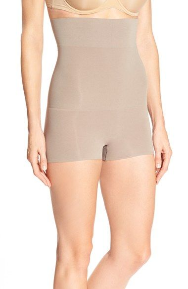 a4a7d170548 SPANX®  Higher Power - Shorty  Waist Shaping Shorts (Regular   Plus Size)  available at  Nordstrom