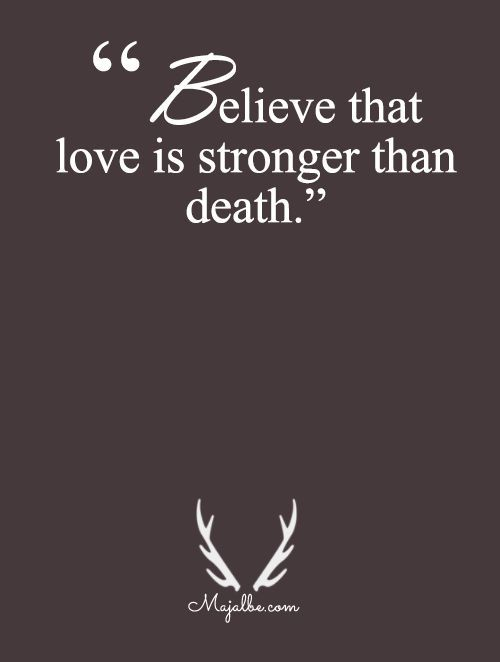 Powerful Love Quotes New Stronger Than Death Love Quotes Httpitzmy  Quotes For Life .