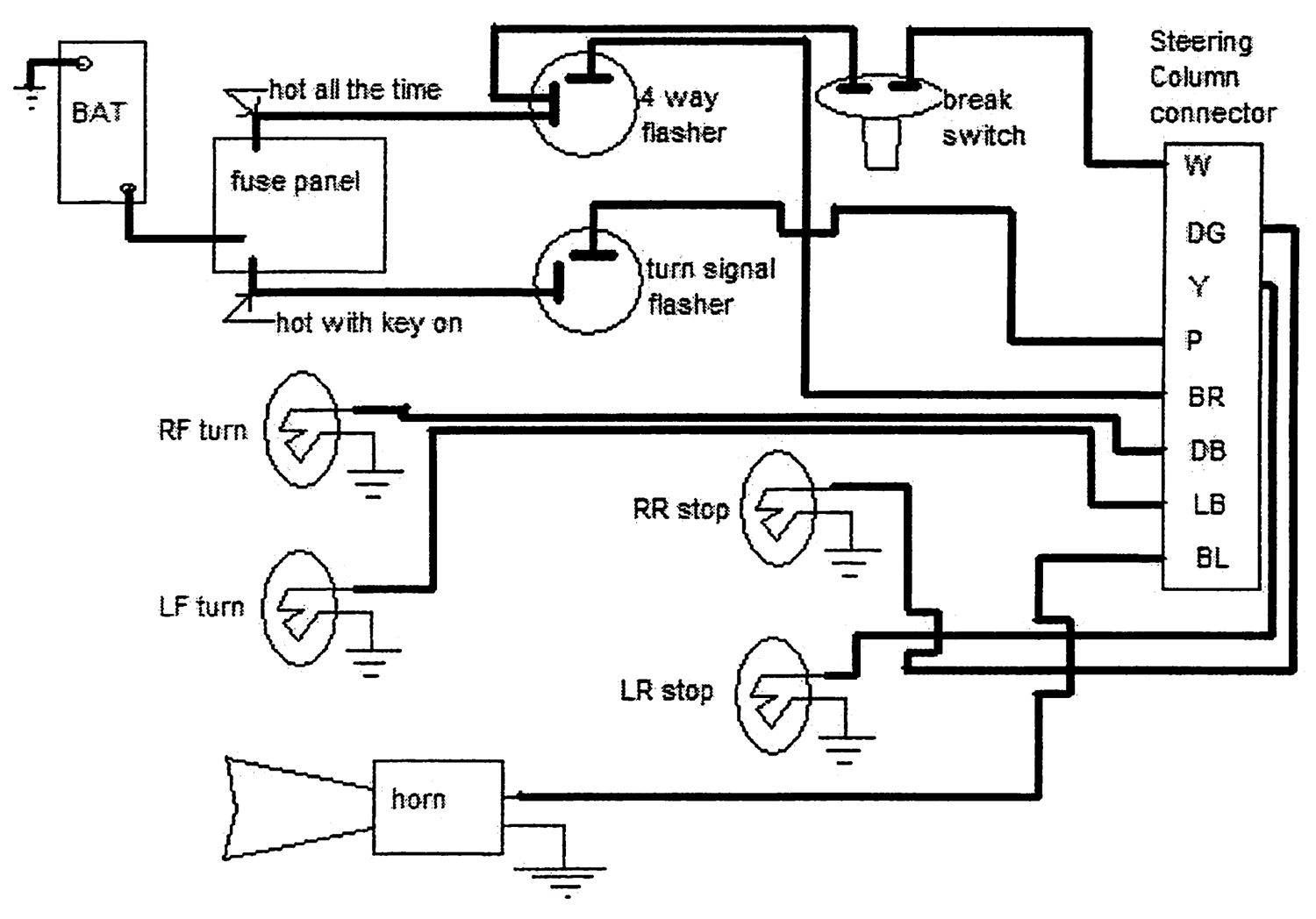 Diagram  Wiring Diagram For 5 Pin Relay For Drl With Turn