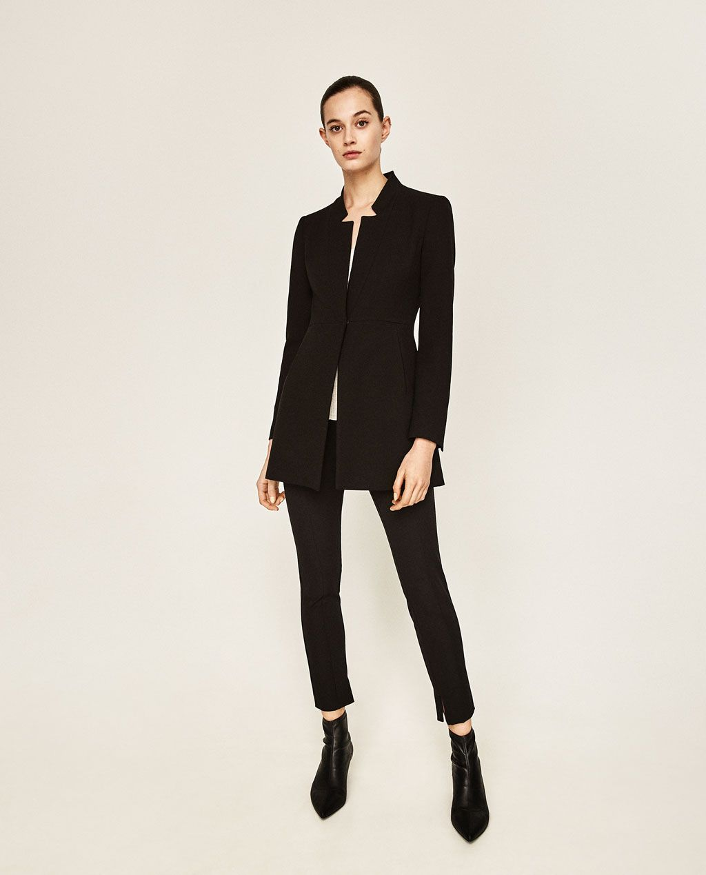 996c8e4dbe INVERTED LAPEL FROCK COAT-OUTERWEAR-WOMAN-COLLECTION SS/17 | ZARA ...