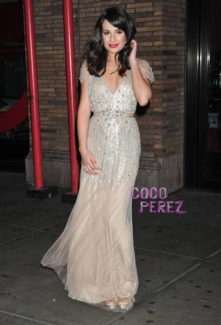 Lea Michele wears Jenny Packham Bridal   Jenny packham, Lea michele ...