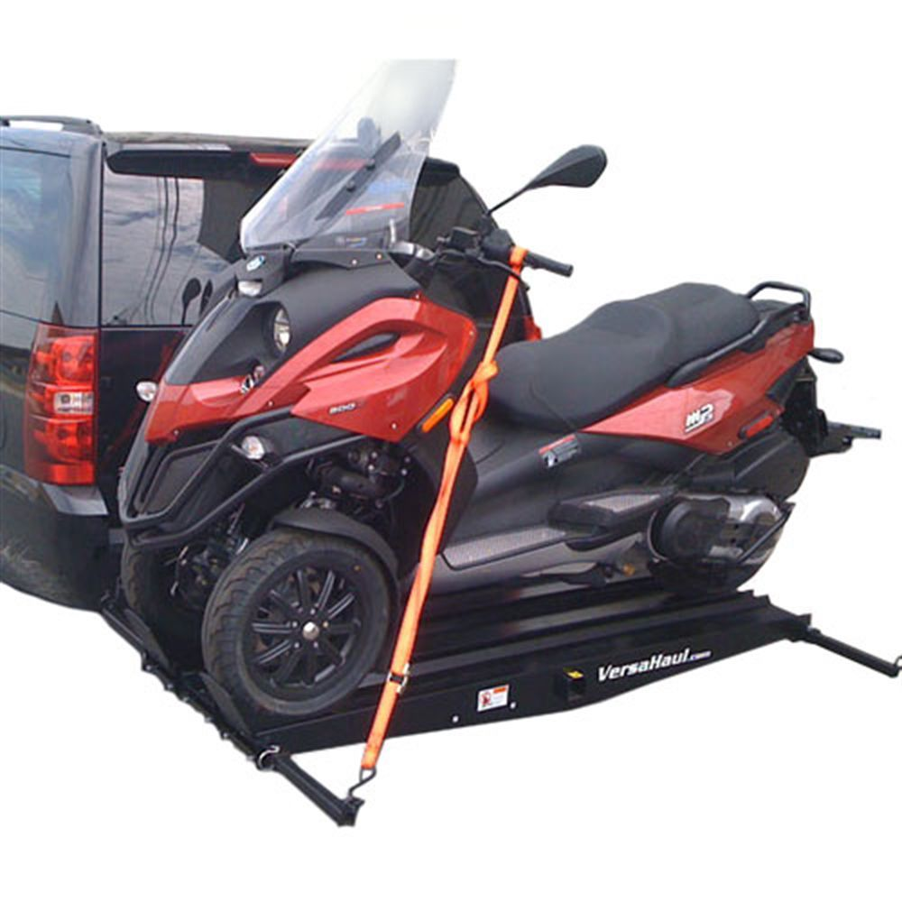 versahaul steel piaggio mp3 scooter carrier - 600 lb capacity
