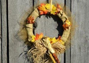 Home DIY: Fall Wreath