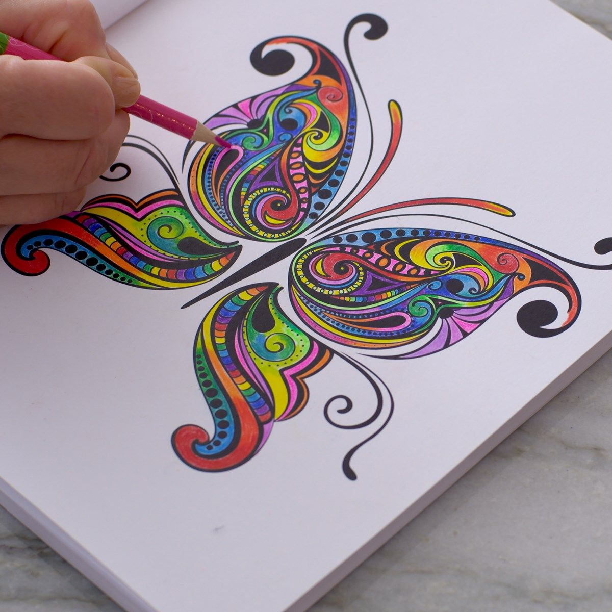 Colorama Colouring Book For Adults