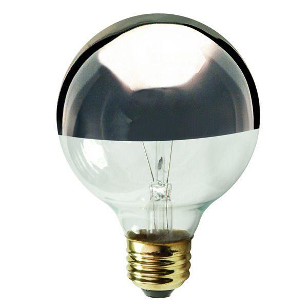 G25 Globe Incandescent Light Bulb 40w 120v Satco S3861 Globe Light Bulbs Light Bulb Incandescent Light Bulb