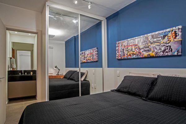 Apartamento pequeno de 30m² Apartamentos pequeños, Apartamentos y - departamento de soltero moderno pequeo