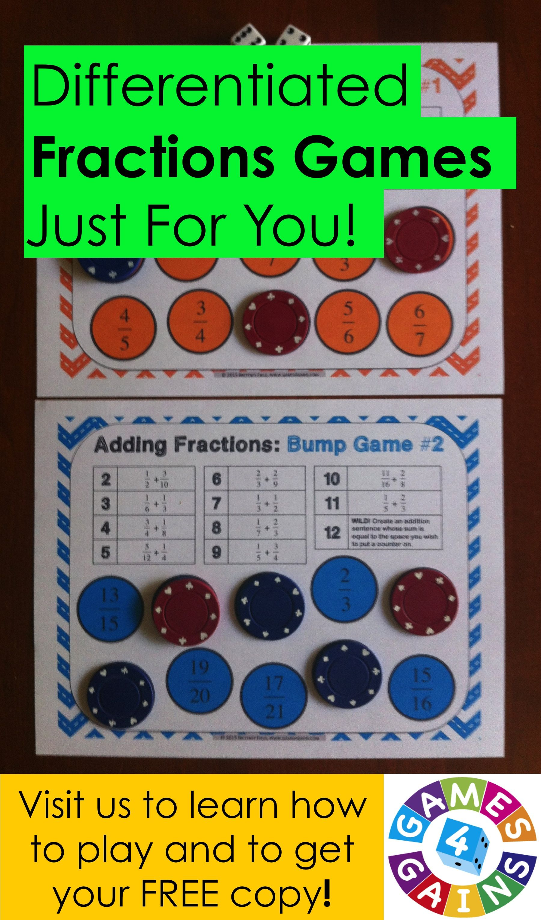 Bump Up The Fun With Fractions Fractions Math Fractions Math Instruction Maths worksheets fractions of amounts