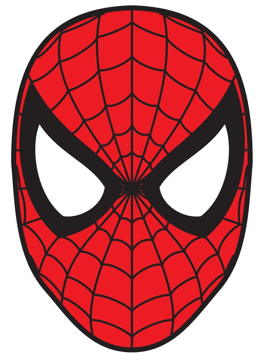 Cool Spider Man Mask Face Coloring Page Spiderman Face Spiderman Coloring Spiderman Drawing