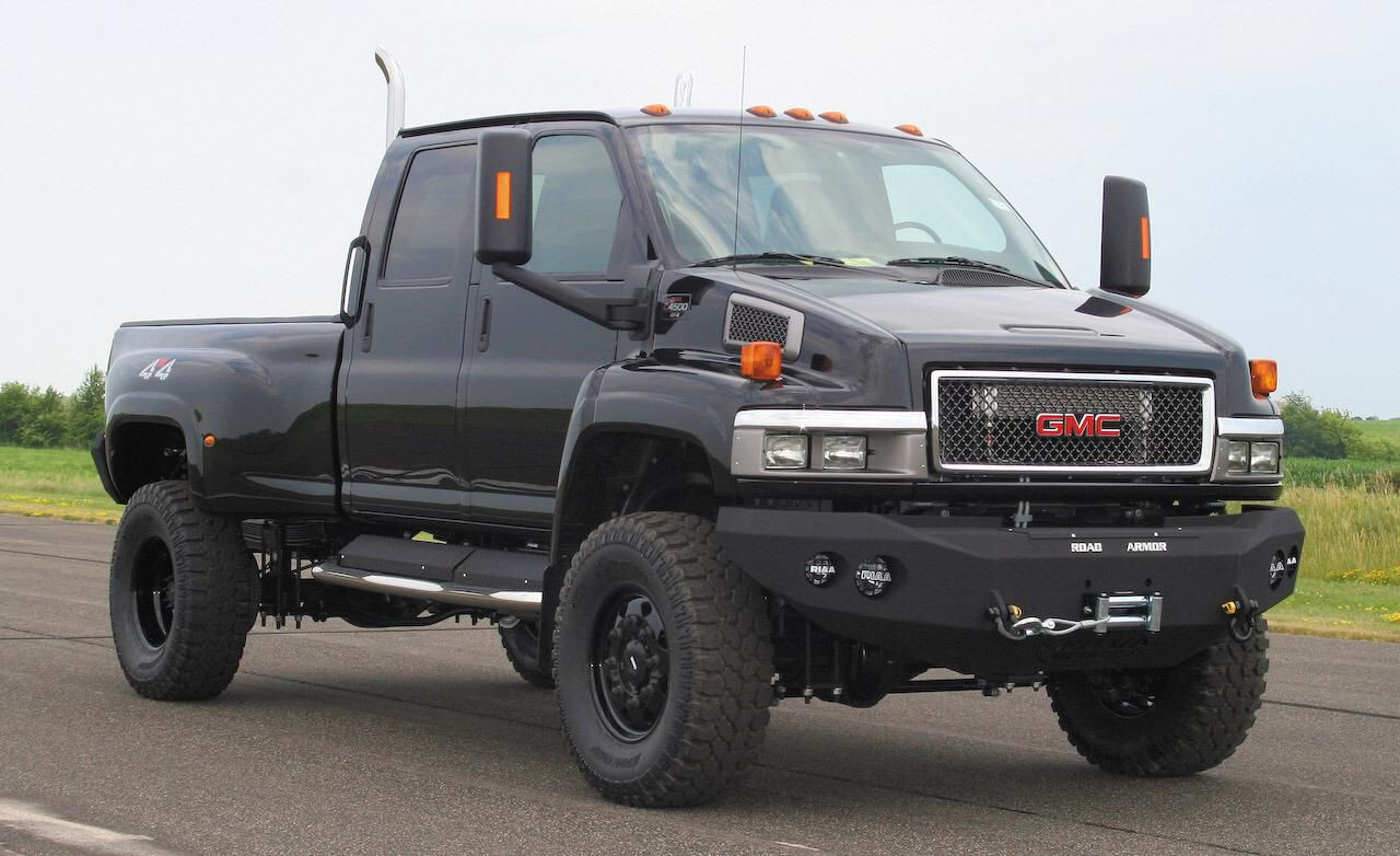 Gmc Topkick Have You Ever Seen Such A Beast Of A Truck And Of