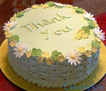 Thank You Cake Thank You Cake Cake Desserts