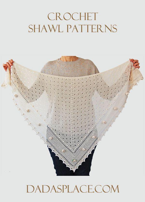 Crochet Shawl Patterns by Dada's place