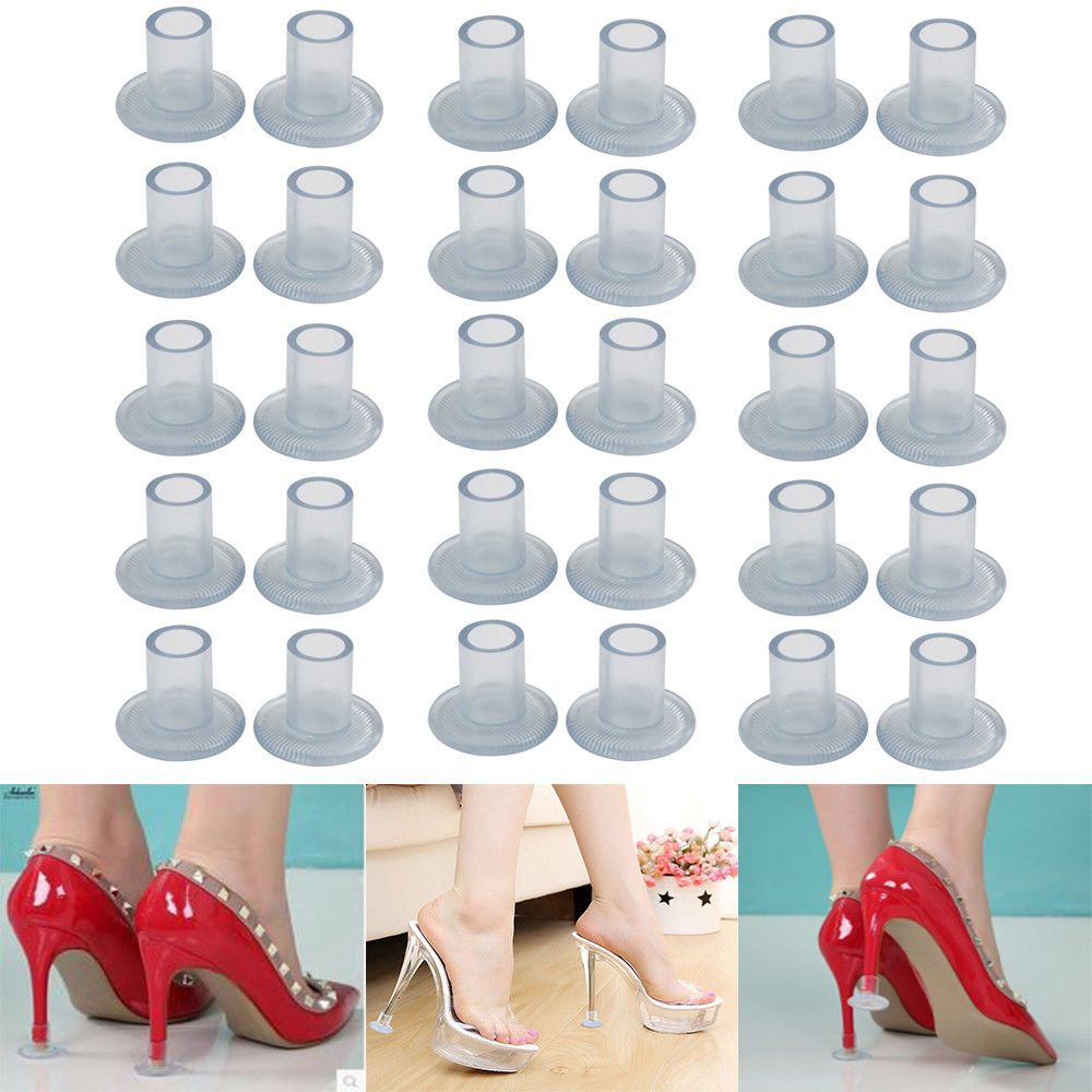 c28215123e7 Details about High Heel Protectors Stopper Stop Heel Sinking ...