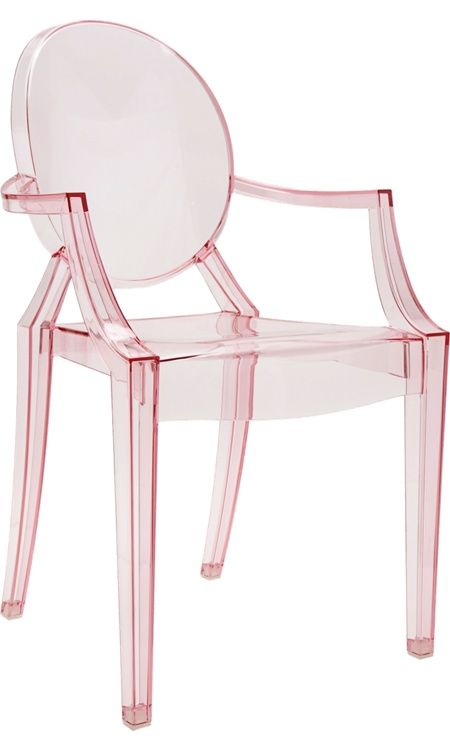 Image Result For Pink Lucite Chair
