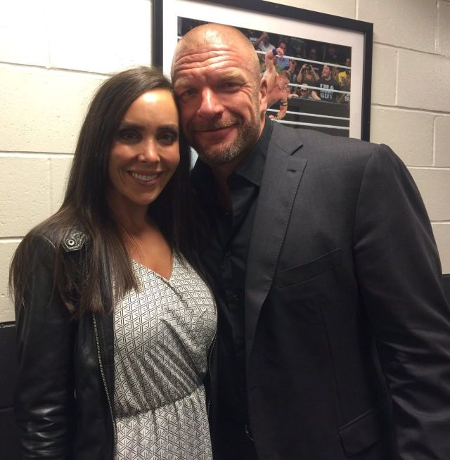 Sara del Rey and Triple H