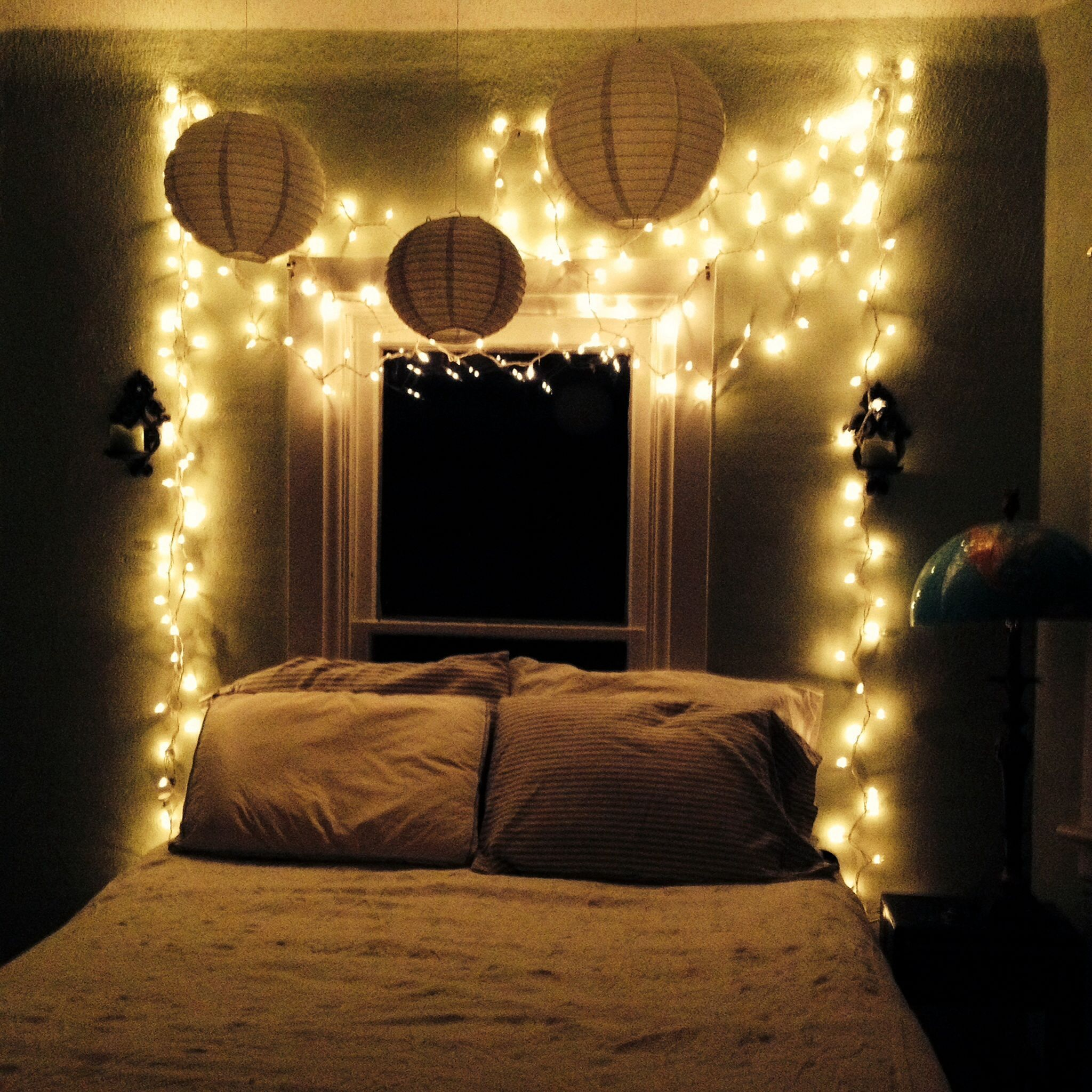 Amazing Bedroom Lighting Ideas: 35+ Amazing Christmas Light Bedroom Decoration Ideas