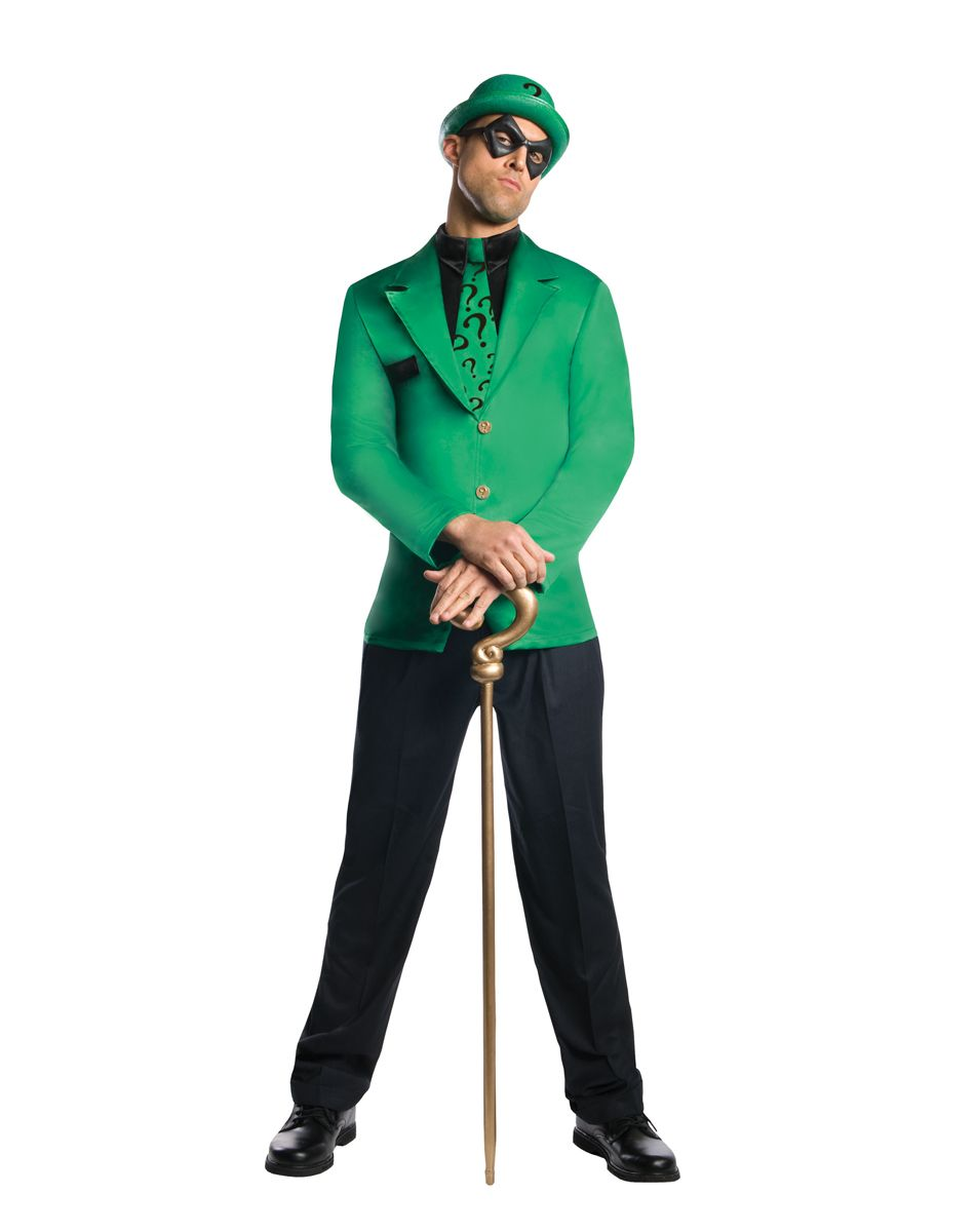 Batman Riddler Adult Men's Costume exclusively at Spirit Halloween ...