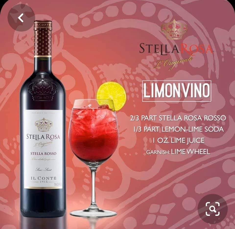 Pin By Emily Kristina On Wine In 2020 Alcohol Drink Recipes Wine Drinks Stella Rosa Wine Recipes