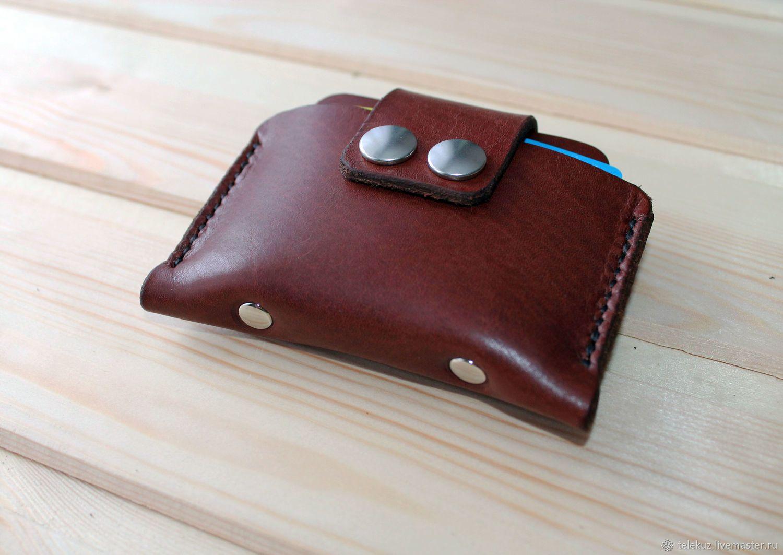ca577266dbc0 Купить Кожаный кошелёк. Мини кошелёк. Кардхолдер в интернет магазине на  Ярмарке Мастеров