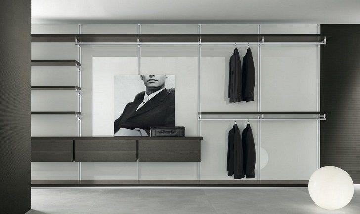 Modern Dress Bold Walk In Closet Elegant And Minimalist Design