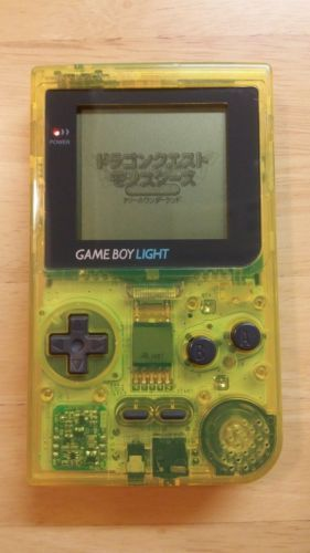 Gameboy Light Toys R Us Japan Limited Clear Yellow Alteration