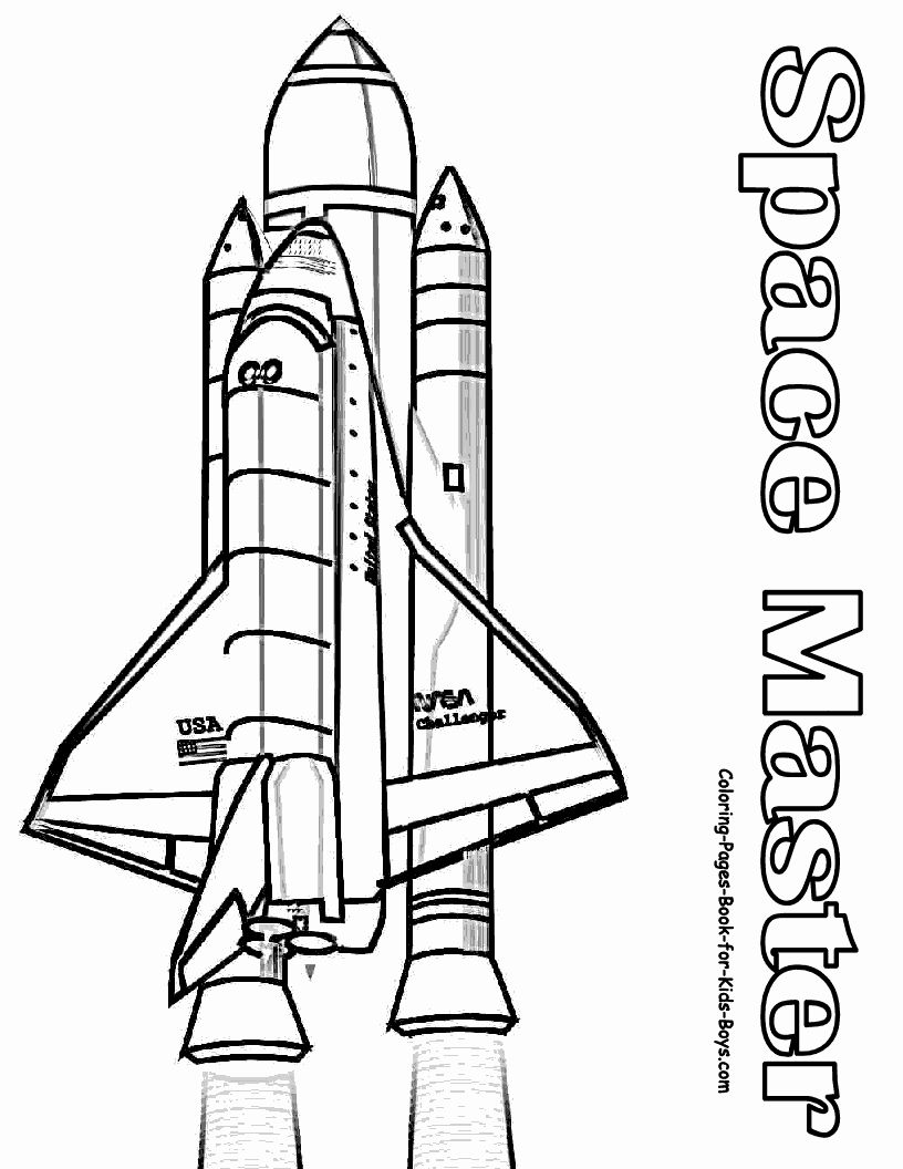 Space Coloring Sheets Pdf New Coloring Pages Space Shuttle In 2020