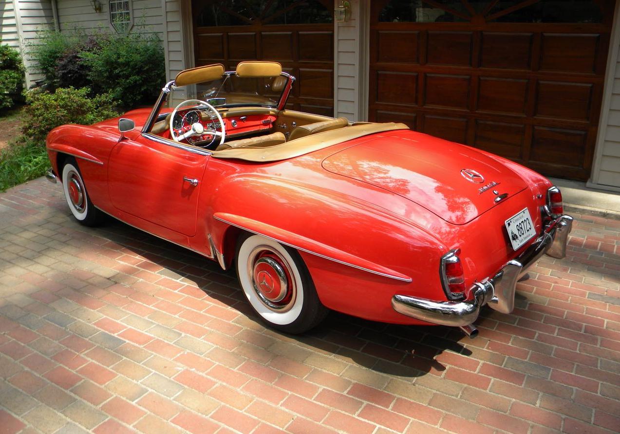 1961 mercedes benz 190sl 23500000 perfect in