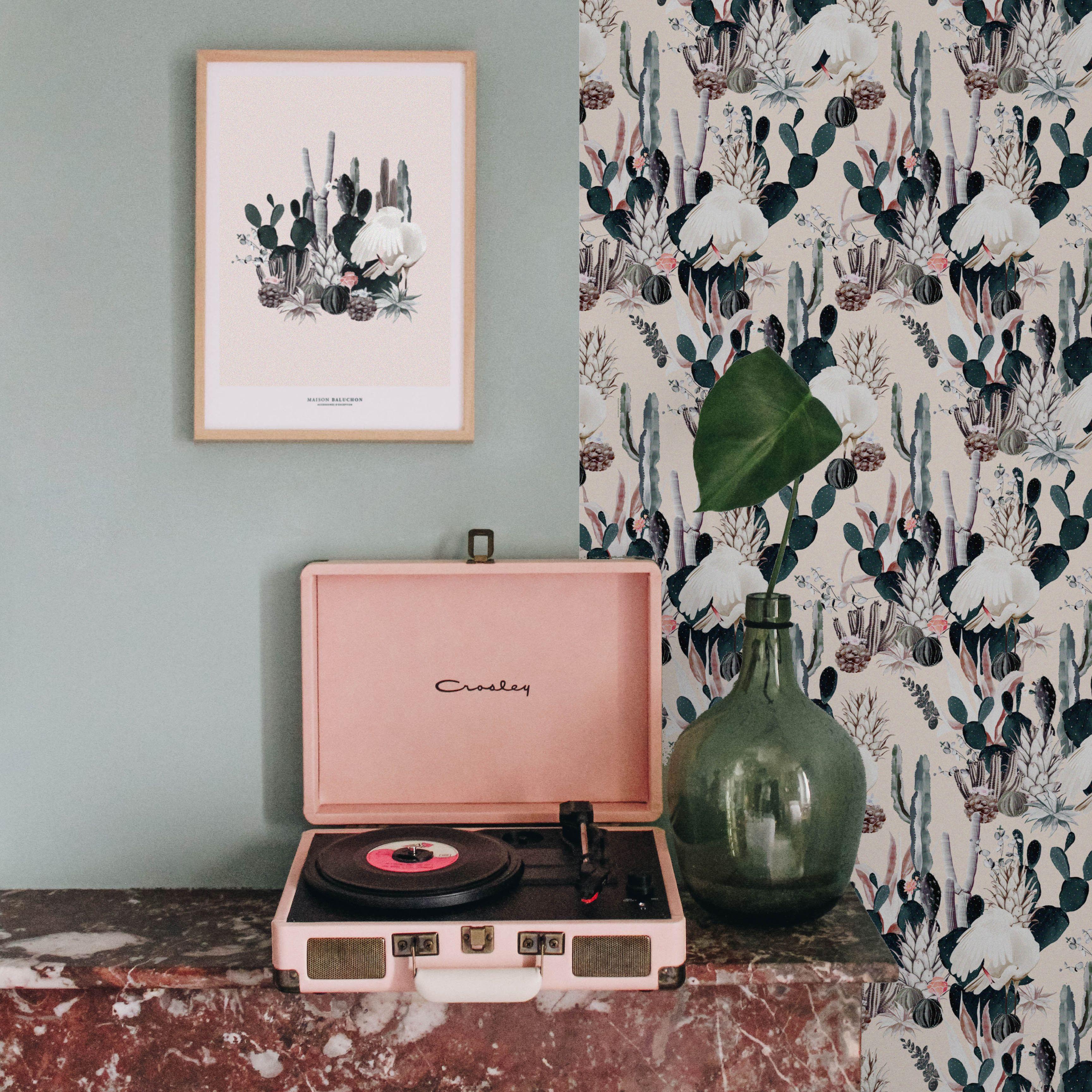 Ss18 Wallpaper Tropical N 12 Maison Baluchon Baluchon