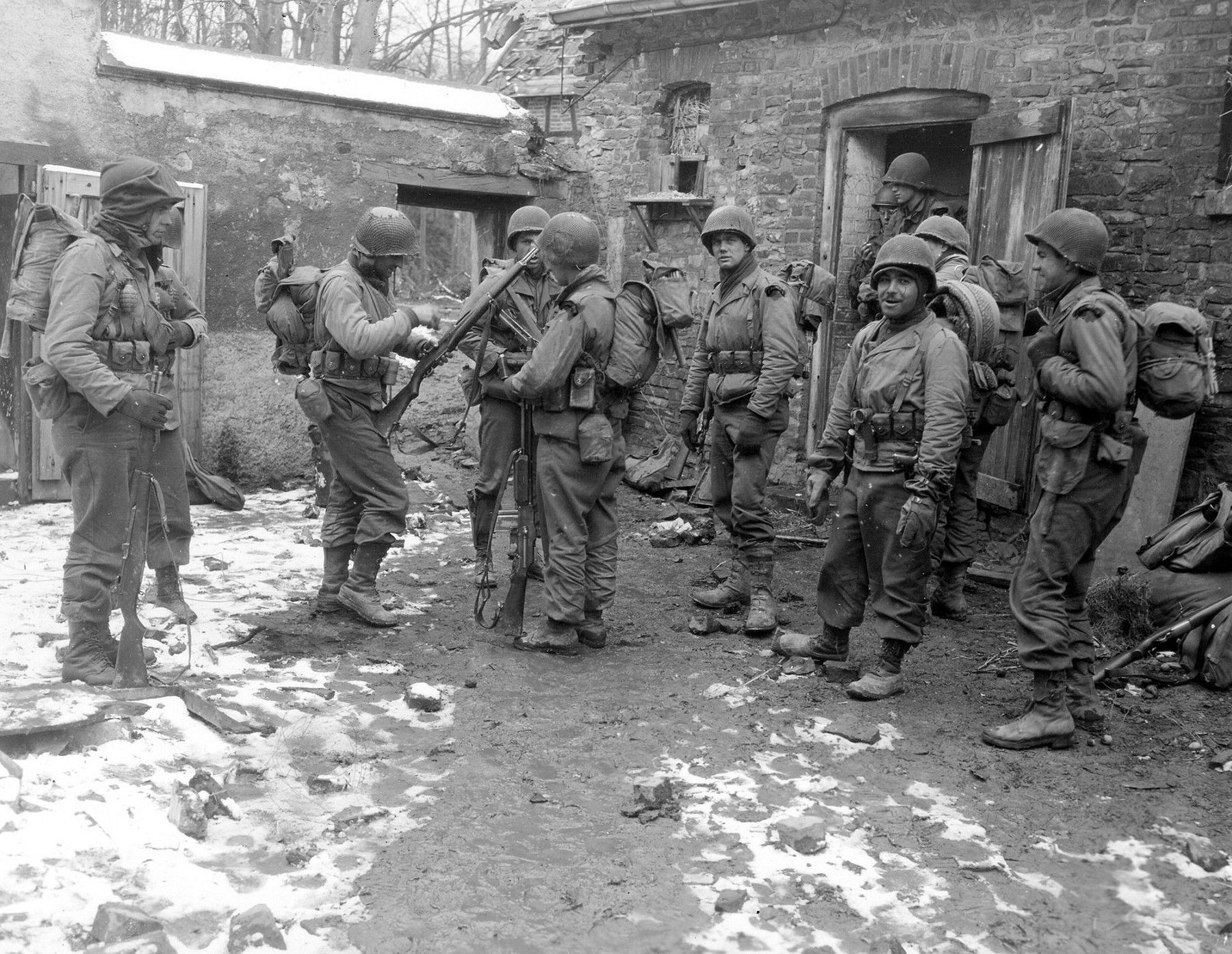 US Rangers in Rurberg, Germany, March 3, 1945  | History WW2 | World