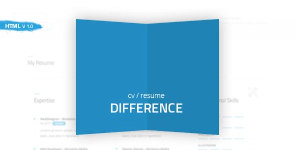 Difference - CV\/RESUME TEMPLATE Bootstrap Themes Pinterest - bootstrap resume template
