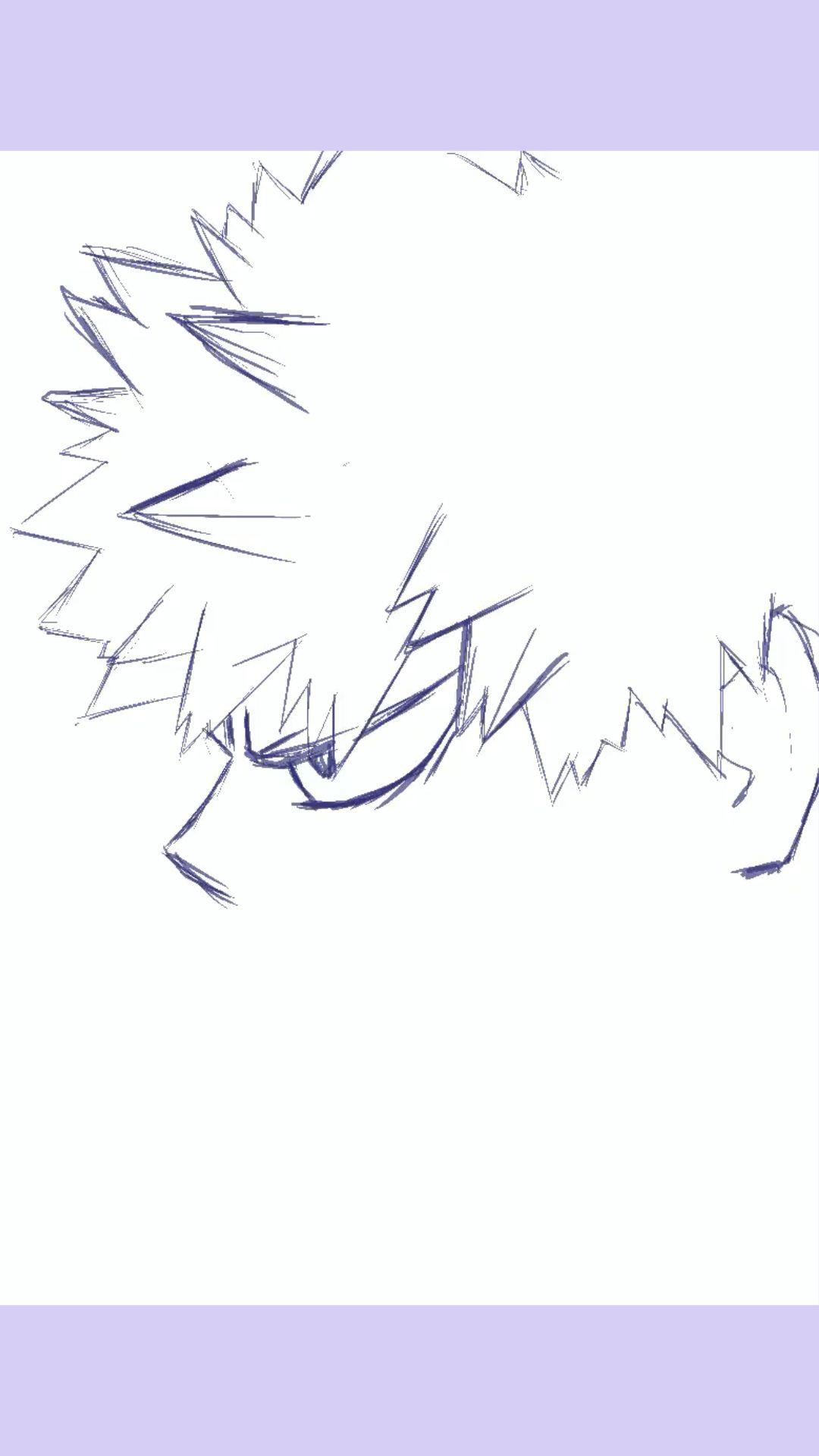 Digital drawing Katsuki Bakugo