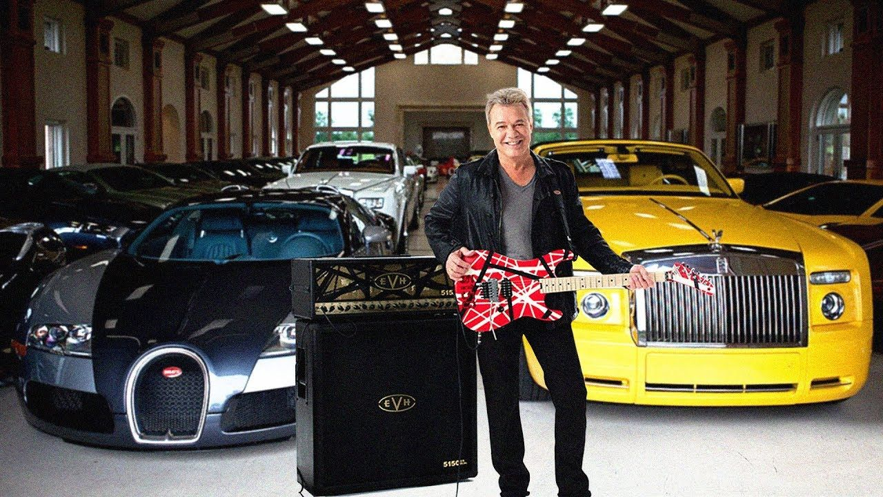 Eddie Van Halen S Lifestyle 2018 Eddie Van Halen Van Halen Youtube