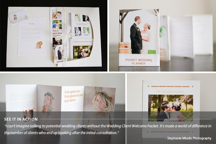 Wedding Photography Welcome Packet: Wedding Welcome Packet: Classic Edition