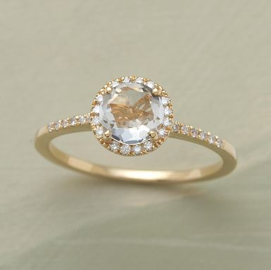 wedding fortuna alternative engagement rings earth rose brilliant non morganite ring gold traditional
