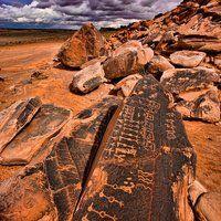 Hopi Rock Art Petroglyphs on Navajo Reservation in Arizona ©Tom Till, All Rights Reserved Worldwide www.tomtillphotog...