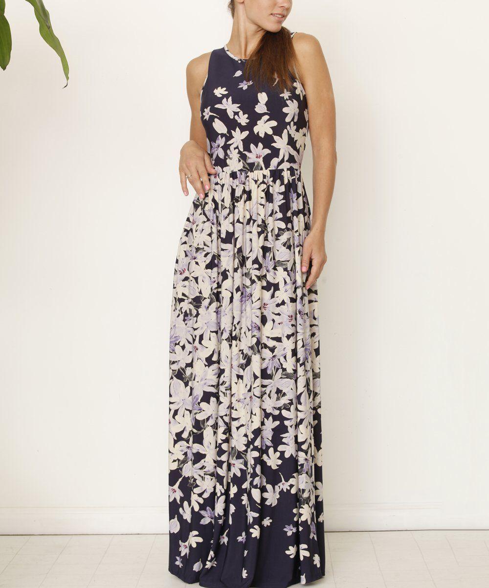 Eloges Purple Floral Maxi Dress Zulily Purple Floral Maxi Dress Floral Maxi Dress Maxi Dress [ jpg ]