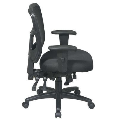 Office Star ProLine II ProGrid Mid-Back Managerial Chair Upholstery: