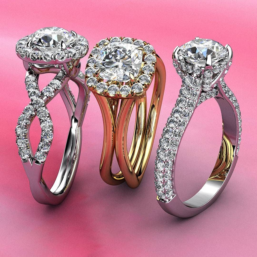 This beautiful halo diamond engagement ring crafted in 14k white ...