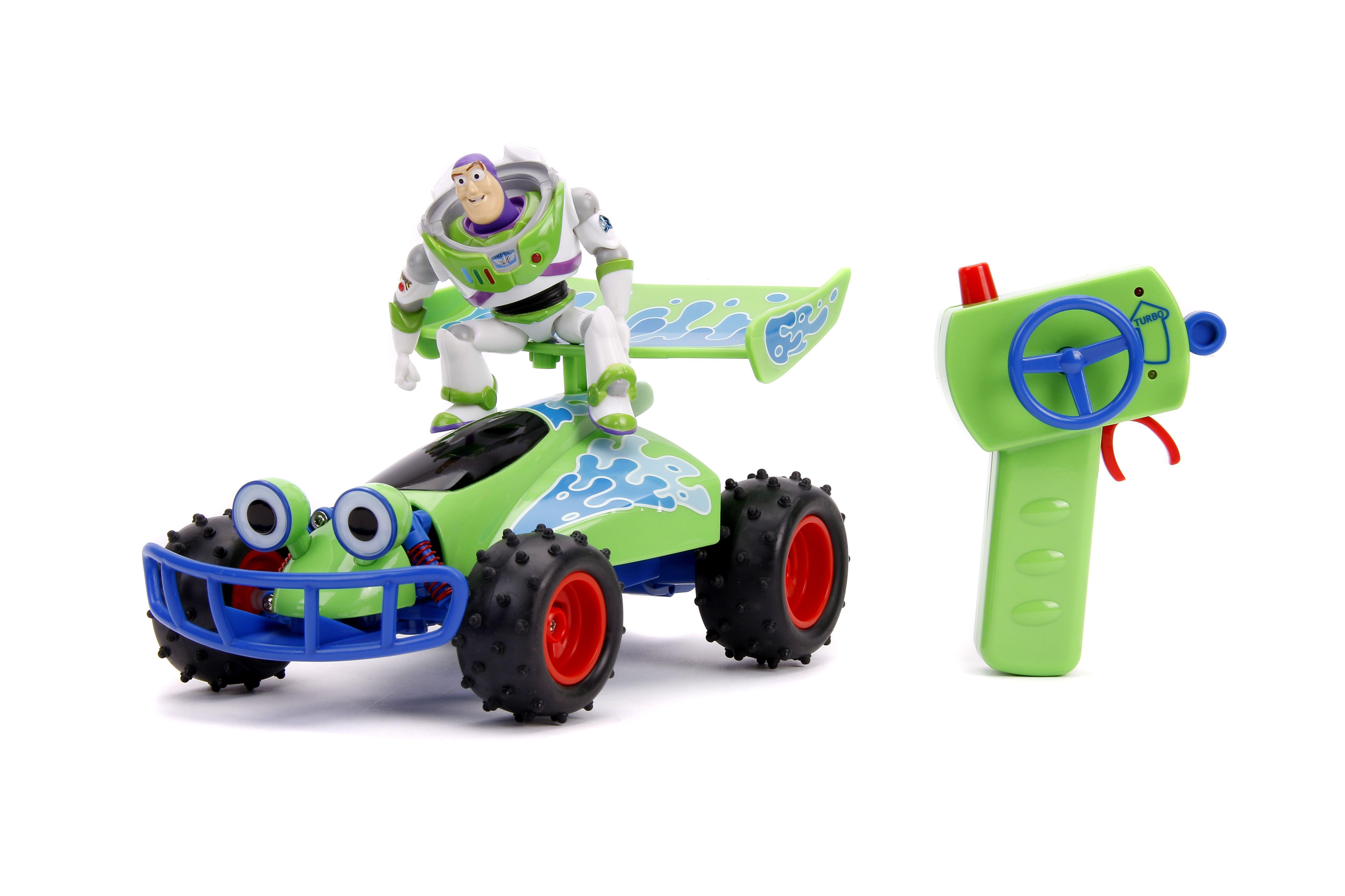 Disney Pixar Toy Story 4 Rc Crash Buggy Buzz Lightyear Remote Control Car Walmart Com Pixar Toys Toy Story Jada Toys