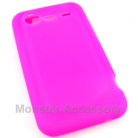 The pink silicone soft skin gel case cover for the htc droid incredible 2 is made with Grade A silica gel. Change the color of your phone with a simple affordable case! it protects your phone from scratches and scuffs and comes in many different colors for your preference.