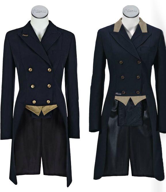 Dark green dressage coat