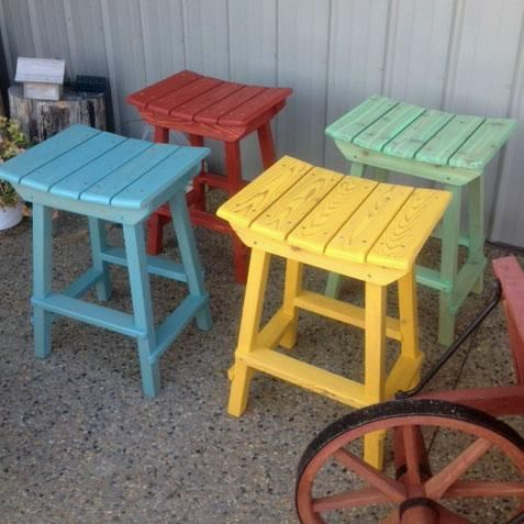 Fun Colored Bar Stools Use For Both, Outdoor Tiki Bar Chairs