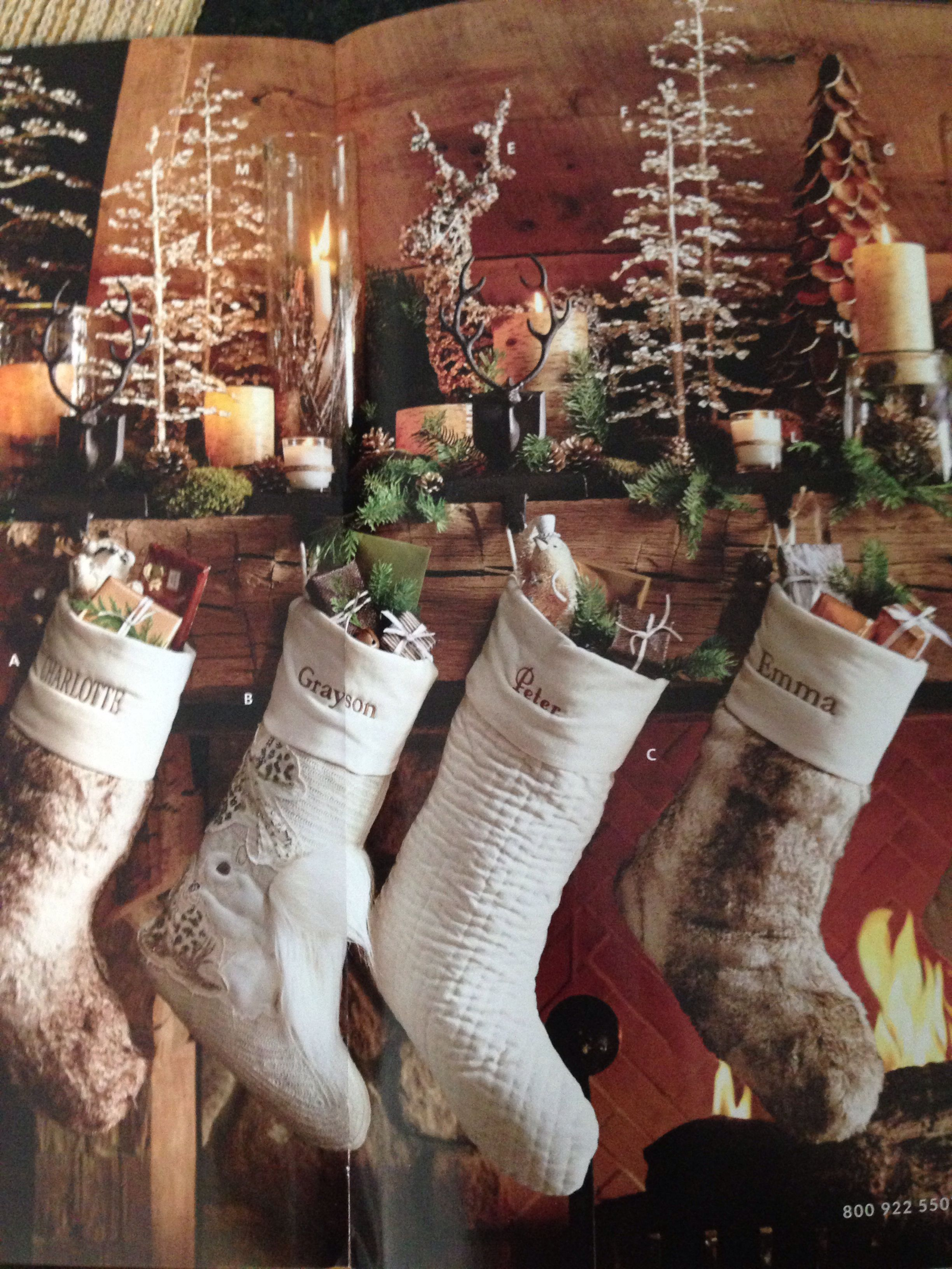 christmas stockings space large woodland pin case use by wood of front map barns woodlandchristmas box tool pottery or barn display