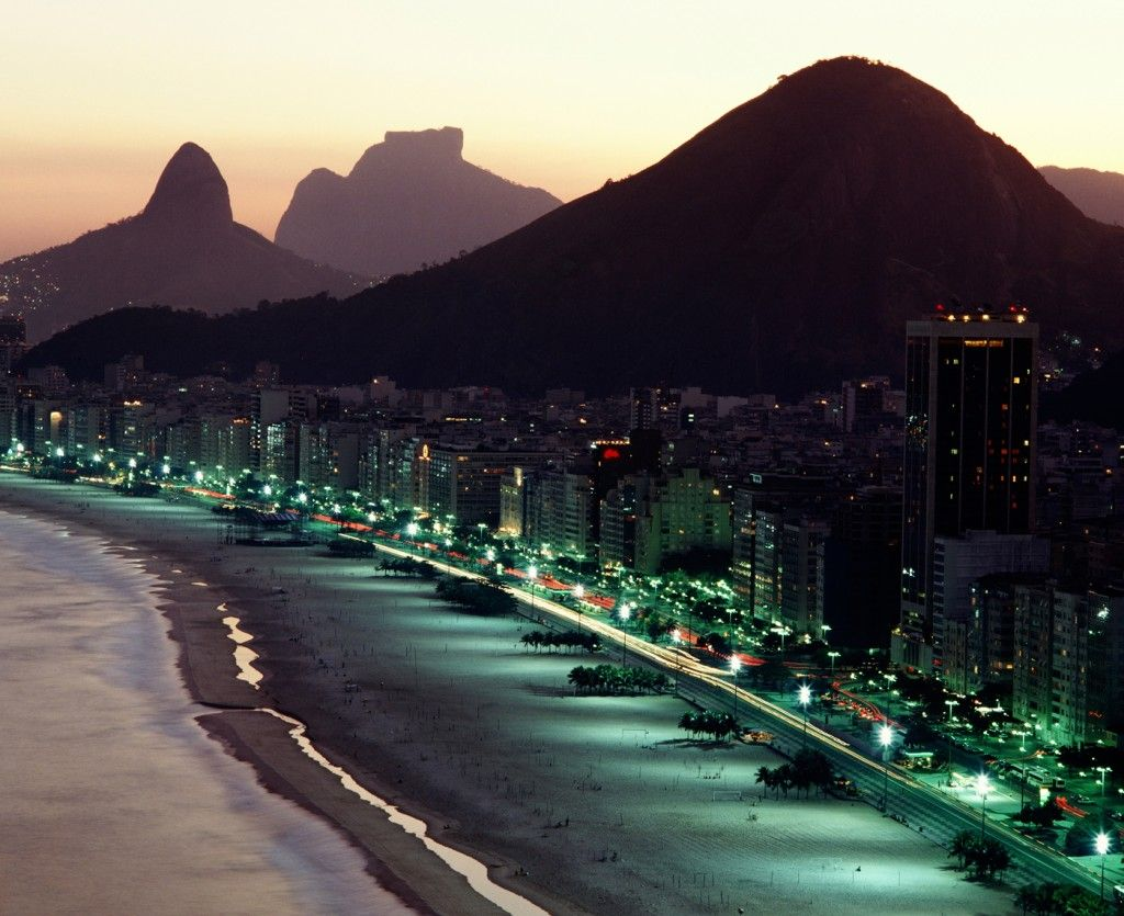 Not sure how the night view of Rio inspires me... but it does!