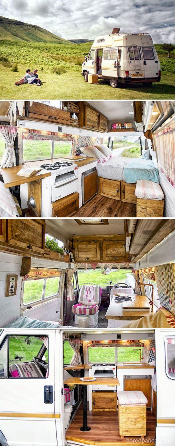 We Transformed This Camper Van In 6 Weeks With Only 1000
