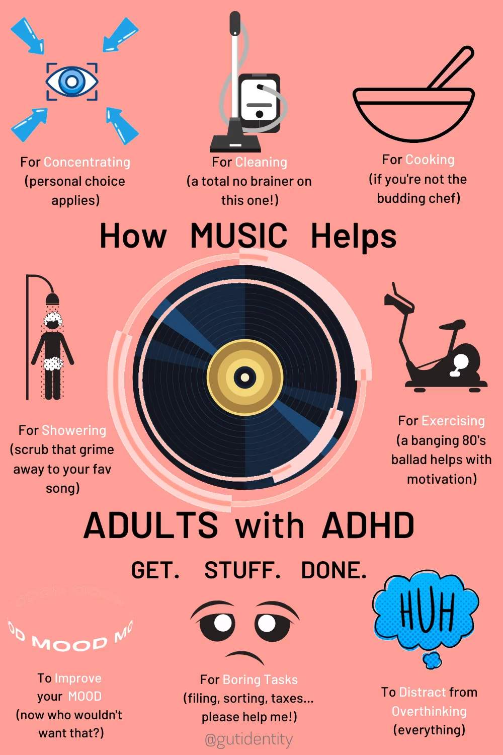Music as a Motivator for Adults with ADHD