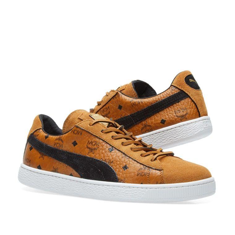 Puma x MCM Suede Classic   Mcm shoes, Classic, Shoes