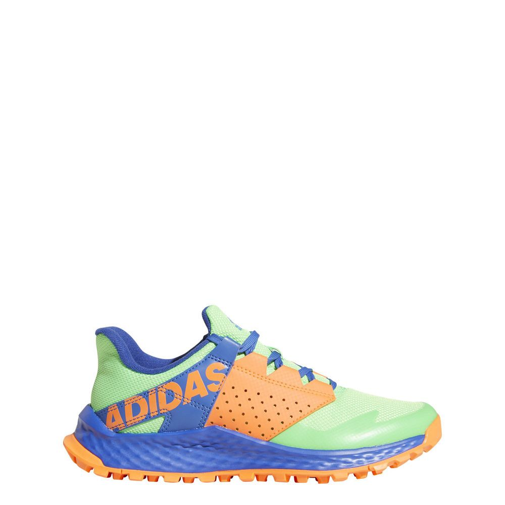 b01163bf3 adidas Unisex-Kids Vigor Bounce Running Shoe Shock Lime Hi-Res Blue Hi-Res  Oran  fashion  clothing  shoes  accessories  mensshoes  athleticshoes  ad ( ebay ...