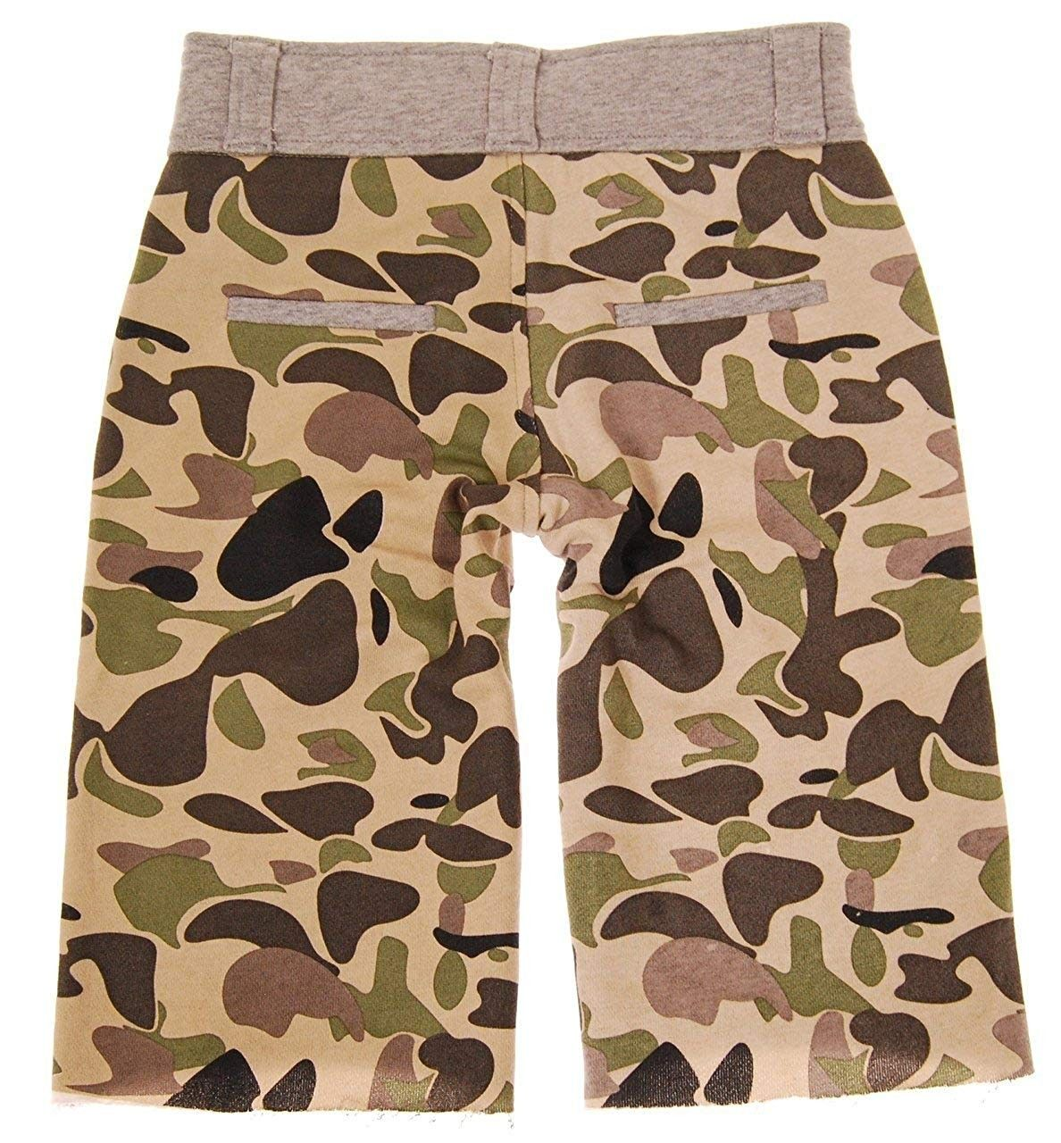Little Boy S Camouflage Earbuds Shorts