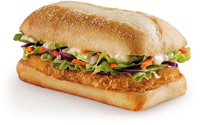 Mcdonald S Australia Chicken Schnitzel Sandwich Flattened Lightly Breaded Chicken Patty In Two Flavors Citrus Ma Chicken Schnitzel Mcdonalds Chicken Food