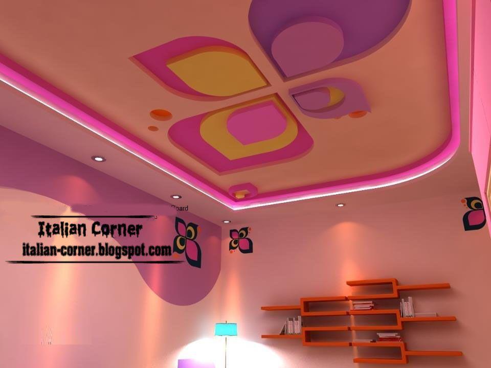 Ceiling Designs Modern Ceiling Designs For Girls Room Modern